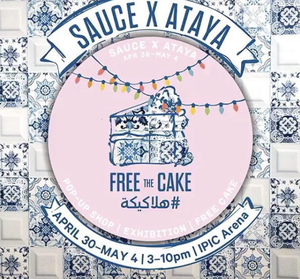 Sauce Pop up at Ataya Participation
